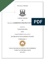 Marketing Strategy of Vodafone India Ltd._306490358