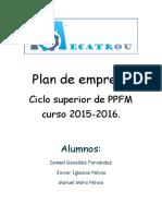 Plan Empresa Manuel Ismael Javier