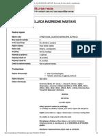 UČITELJ-ICA RAZREDNE NASTAVE - Burza Rada, Hrvatski Zavod Za Zapošljavanje