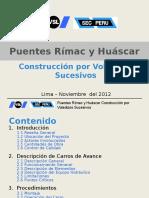 PUENTES Rimac y Huascar 15.11.2012
