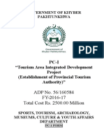 PC-I Integrated Tourism Development Unit