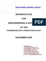 Pharco Lab - Business Plan n0v. 09