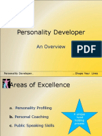 Personality Developer Overview
