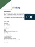 Selenium Training Course - MSR Trainings