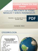 TUMORES SINUNASALES MALIGNOS.pptx