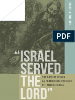 (ND Reading the Scriptures) Rachel M. Billings-_Israel Served the Lord__ The Book of Joshua as Paradoxical Portrait of Faithful Israel-University of Notre Dame Press (2013).pdf