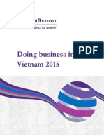 Doing Business in Vietnam 2015