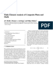Finite Element of Composites Plate