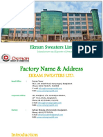 Factory Profile of Ekram Sweater..