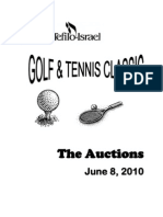 TSTI Auction Book as of June 2