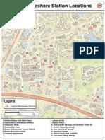 Reston Bike Share Station Locations