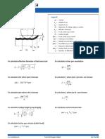 Formulas for Milling