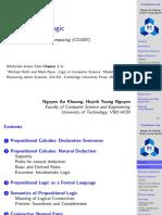 DS Ch1a Propositonal Logic Handout
