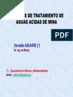 Tratamiento de Aguas Acidas