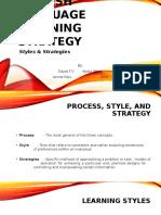 English Language Learning Strategy