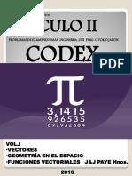 CALCULO II Codex Tomo I PAYE