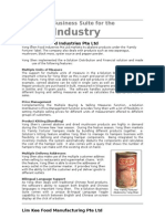 Success Story Implementasi eSolution Financial Food Industry Summarized