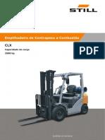 manual empilhadeira clx25