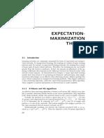 Expectation Maximization Theory