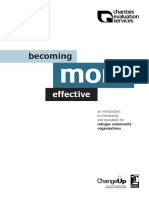 Becoming More Effective