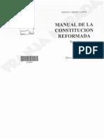 Manual de La Constitucion Reformada. Bidart Campos T I