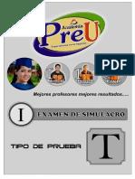 i Examen de Avance Pre-u Set 2016