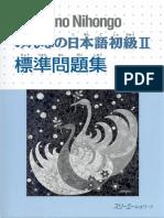 Minna No Nihongo II - Hyoujun Mondaishuu.pdf