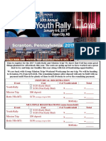 Youth Rally and Mission Flyer w Med Forms