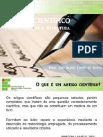 ARTIGO CIENTÍFICO Características e Estrutura