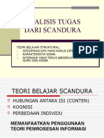 Analisis Tugas Dari Scandura