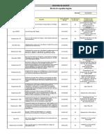 RPG 9-3-1 Matriz de Requisitos Legales