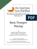 BasicTrumpetPlaying US ARMY
