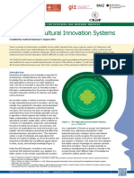 GFRAS GGP Note13_Agricultural Innovation Systems