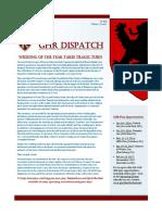 GHR Dispatch Vol 1