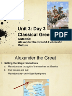 unit 3  day 3 alexander the great