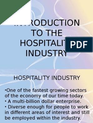 hotel industry 2018