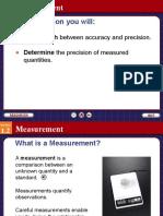 Chapter 1.2 Measurement
