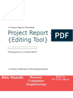 Project Report