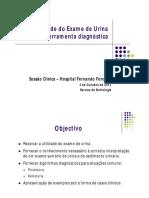 Utilidade do Exame de Urina.pdf