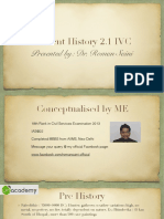 Ancient History 2.1 IVC