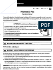 Pokémon Go Plus Manual