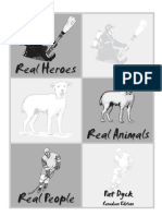 Real Heroes, Real People, Real Animals Sample Unit
