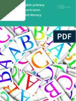 Spanish/English primary integrated curriculum. Language and literacy