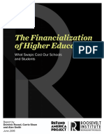 Financialization of Higher Education