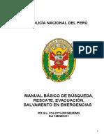 MANUAL BASICO DE BUSQUEDA, RESCATE, SALVAMENTO DE EMERGENCIAS.doc