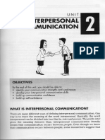 Bab 2 - Interpersonal Communications