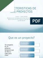 Cap 1 Caracteristicas de Los Proyectos
