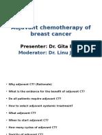 Adjuvant Chemotherapy of BC