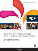 TRIBOLOGY & LUBRICATION TECHNOLOGY  May 2016