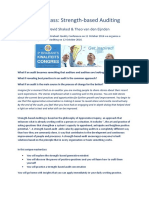 Flyer Masterclass Strength Based Auditing - Eng